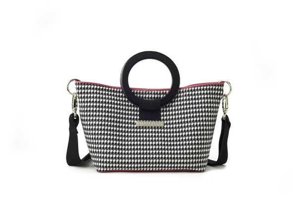 Houndstooth East/West Bag