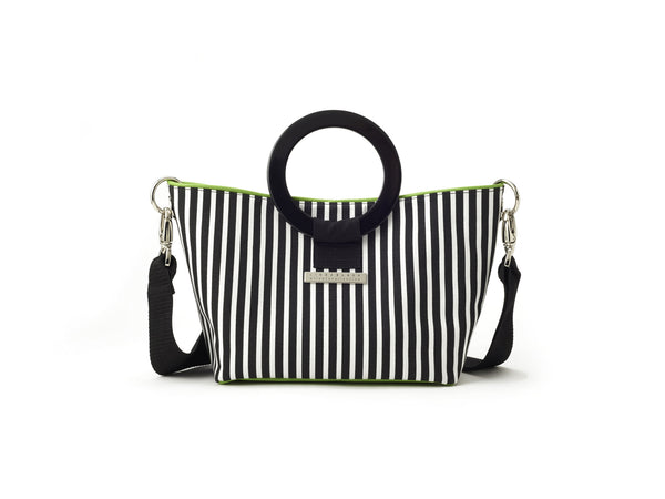 Carrie Stripe East West Bag