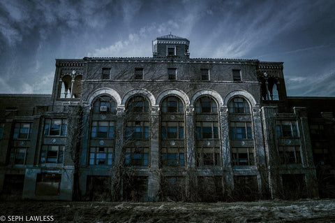 Seph Lawless Abandoned Asylum