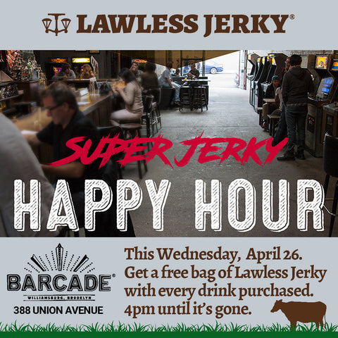Super Jerky Happy Hour