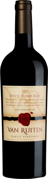 2016 Van Ruiten Davis Road Red Red Blend Lodi CA