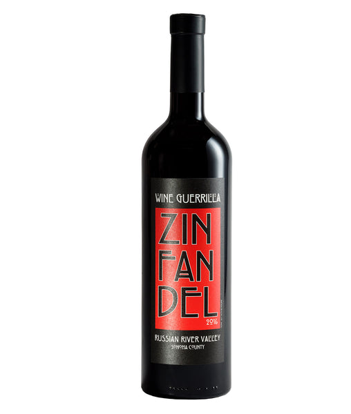 2016 Wine Guerrilla Zinfandel Russian River Valley California