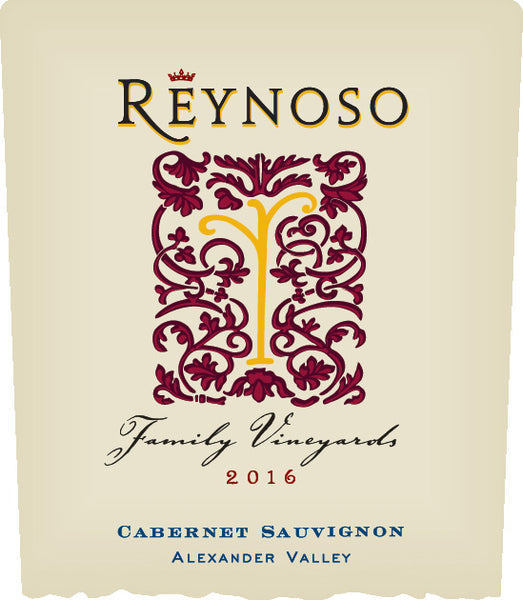 2016 Reynoso Family Vineyards Cabernet Sauvignon Alexander Valley California