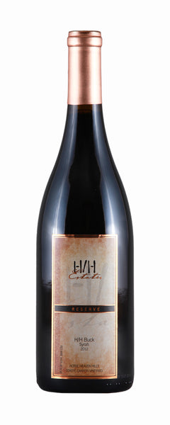 2012 Coyote Canyon Winery H/H Buck Syrah Syrah Horse Heaven Hills Washington