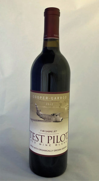 2012 Cooper-Garrod Estate Vineyards Test Pilot F-86 Red Blend Santa Cruz Mountans CA