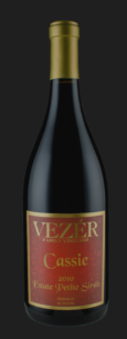 2014 Vezer Family Vineyards Cassie Petite Sirah Suisun Valley California
