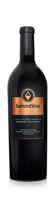 2015 SummitVine Cabernet Sauvignon SummitVine Ranch. Diamond Mountain District, Napa Valley,  California