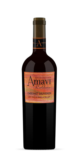 2015 Amavi Cellars Cabernet Sauvignon Walla Walla Valley Washington