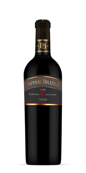 2014 Pepper Bridge Winery Trine Cabernet Franc, Cabernet Sauvignon, Merlot, Malbec, Petit Verdot Walla Walla Valley Washington