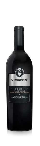 2016 SummitVine Diamant Proprietary Red Wine Blend SummitVine Ranch. Diamond Mountain District, Napa Valley, California