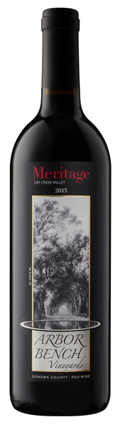 2013 Arbor Bench Vineyards Meritage 34% Cabernet Sauvignon, 34% Merlot and 32% Malbec Dry Creek Valley