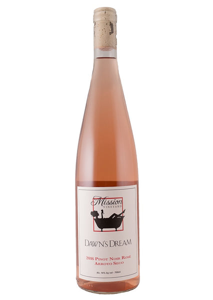 2018 Dawn's Dream Clone 236 Pinot Noir Rose Santa Lucia Highlands California