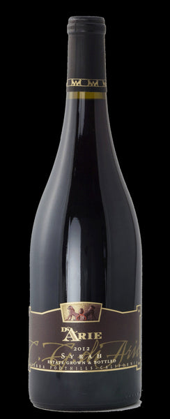 2016 C.G. Di Arie Winery Syrah Sierra Foothills, California Shenandoah Valley CA