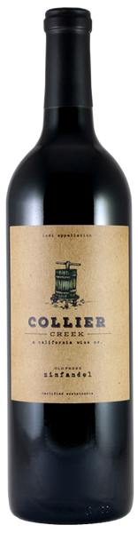 2016 Collier Creek Wine Co. Old Press Zinfandel Lodi California