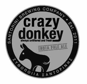 Santorini Brewing Co. Crazy Donkey IPA Greece
