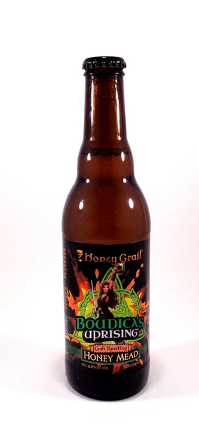 Honey Grail Boudica's Uprising's - Craft   Sparkling Honey Mead (Loose Bottles)