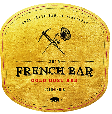 2016 French Bar Wine Red Blend CA CA