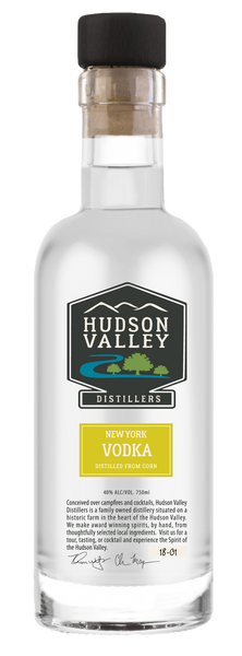 NA Hudson Valley Distillers New York Vodka Vodka New York New York