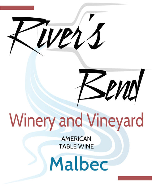 NA River's Bend Winery and Vineyard Malbec Georgia Georgia