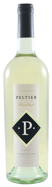 2017 Peltier Winery Black Diamond Vermentino Lodi California
