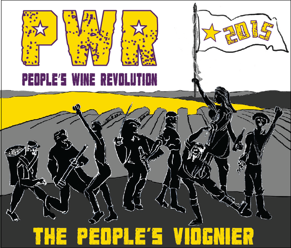 2015 PWR Wines Viognier Dry Creek Valley Sonoma County CA
