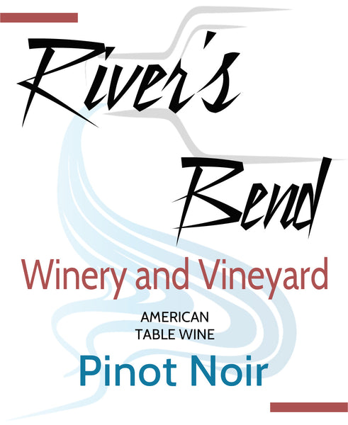 NA River's Bend Winery and Vineyard Pinot Noir Georgia Georgia
