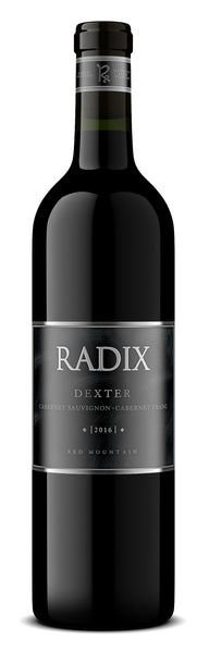 2016 Radix Winery Dexter Cabernet Sauvignon/Cabernet Franc Red Mountain Washington