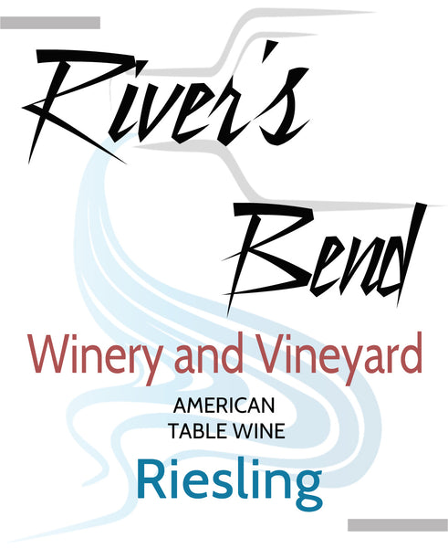 NA River's Bend Winery and Vineyard Riesling Georgia Georgia