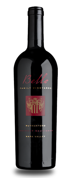 2017 Bello Family Vineyards Rutherford Cabernet Sauvignon Rutherford CA