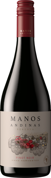 2015 Manos Andinas Reserva Pinot Noir Casablanca Valley Chile