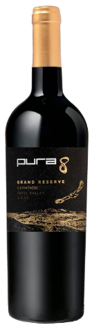 2011 Pura 8 Las Cabras Grand Reserve Carménére Rapel Valley Chile