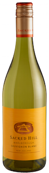 2016 Sacred Hill Vineyards Sauvignon Blanc Marborough