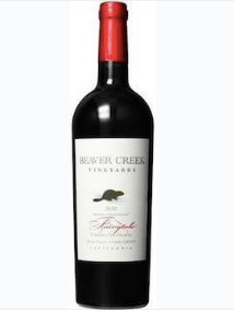2015 Beaver Creek Zinfandel Lake County  California