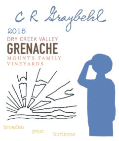2015 C R Graybehl Wine Company Greanche Noir Dry Creek Valley California