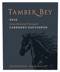 2016 Tamber Bey Vineyards Deux Chevaux Vineyard Cabernet Napa Valley Yountville CA