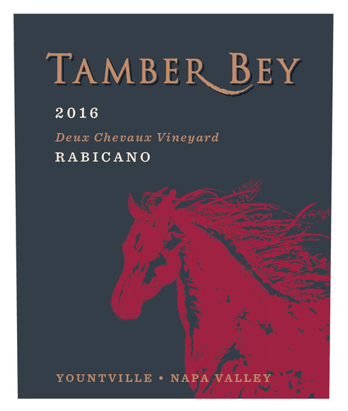 2016 Tamber Bey Vineyards Rabicano Deux Chevaux Vineyard Red Blend Napa Valley Yountville CA