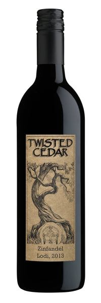 2013 Twisted Cedar Native American Wine Zinfandel Lodi California