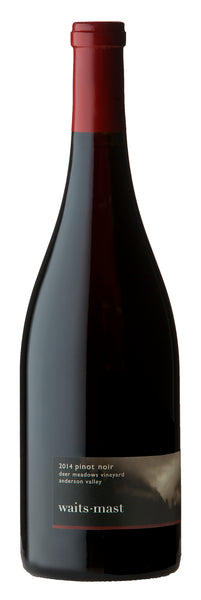 2014 Waits-Mast Family Cellars Deer Meadows Vineyard Pinot Noir Anderson Valley CA