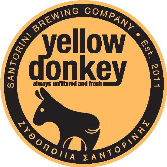 Santorini Brewing Company Yellow Donkey Ale Greece