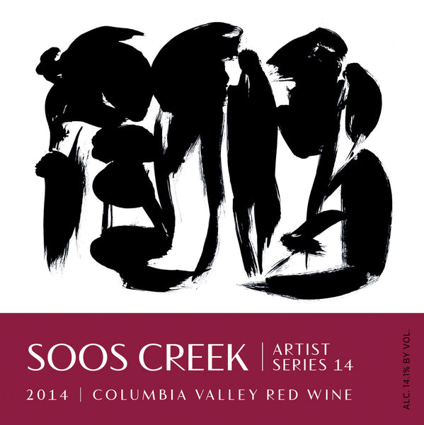 2014 Soos Creek Wine Cellars Artist Series #14 Cabernet Sauvignon and Cabernet Franc Columbia Valley Washington