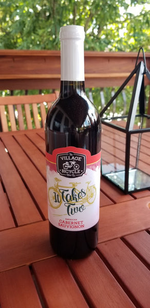 2018  Village Bicycle Wine Co. It Takes Two Cabernet Sauvignon American New York