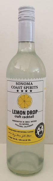 Sonoma Coast Spirits Lemon Drop Cocktail Ready To Drink Cocktail United States of America