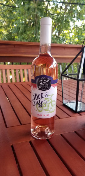 2018 Village Bicycle Wine Co. Nice & Easy Rosé New York New York