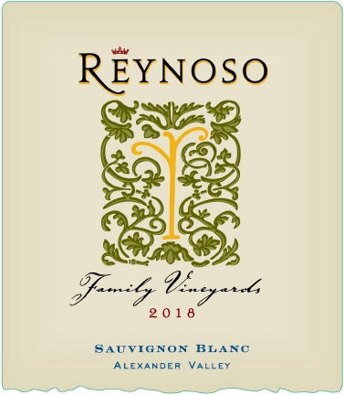 2018 Reynoso Family Vineyards Sauvignon Blanc Alexander Valley California