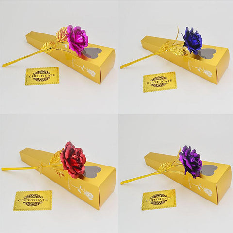 Artificial & Dried Flowers - Gold Plated Flower