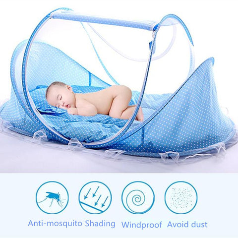 Baby Crib - Baby Portable Fold Able Crib