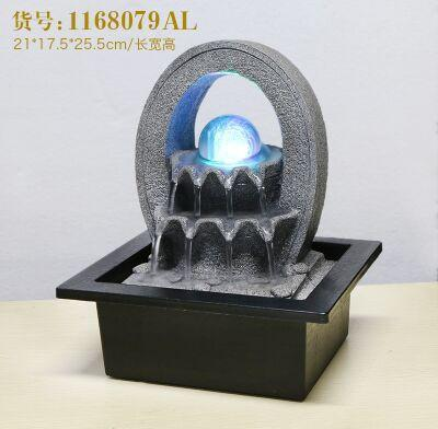Free Shipping Fengshui Wheel Water Fountain Decoration