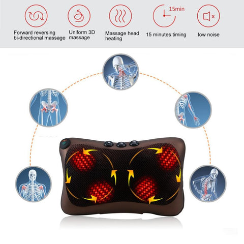 Image of Pillow Massager - Electric Infrared Pillow Massager