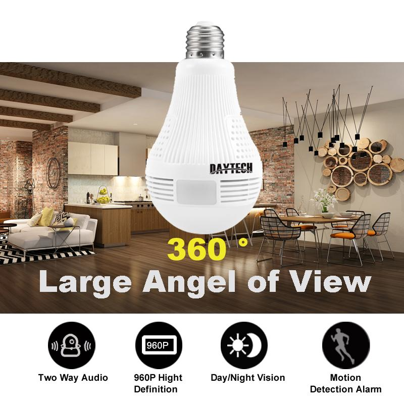 Surveillance Cameras - 360° Wifi Panoramic Surveillance Camera