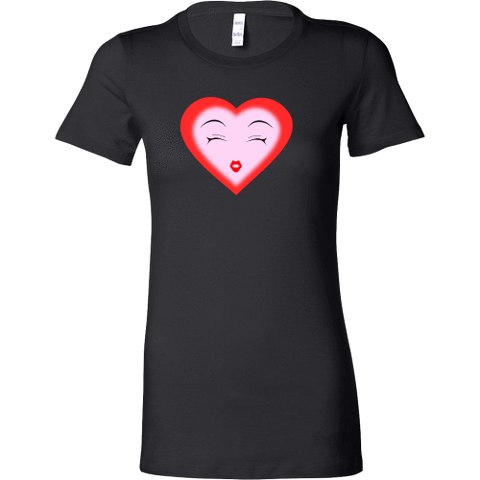 Image of T-shirt - Dreamy Heart (Bella Womens Shirt)
